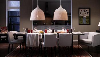 Mesas de comedor extensibles de Ikea