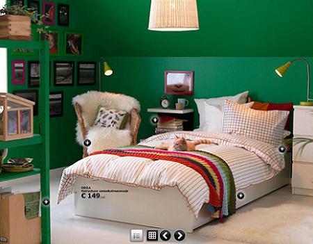 7 dormitorios juveniles de ikea 2009 la tienda sueca - Dormitorios juveniles ikea precios ...