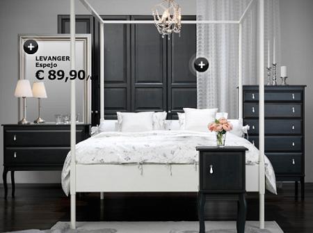 Decora tu dormitorio con un estilo r stico con ikea - Dormitorios rusticos ikea ...
