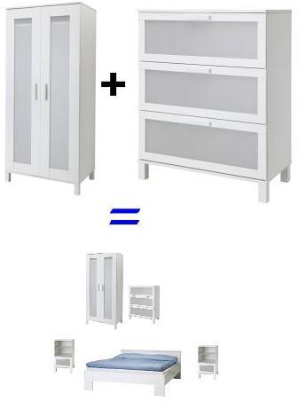 dormitorio de ikea completo por menos de 500 euros la tienda sueca page 3. Black Bedroom Furniture Sets. Home Design Ideas