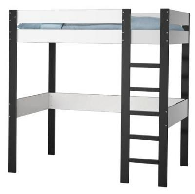 Ahorra espacio en tu habitaci n con una cama alta de ikea for Estructura cama alta