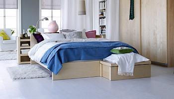 Dormitorio malm de ikea por menos de 350 euros la tienda sueca - Dormitorio malm ikea ...