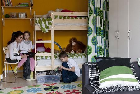 Habitaci n para 2 ni os con ikea la tienda sueca - Habitacion ninos ikea ...
