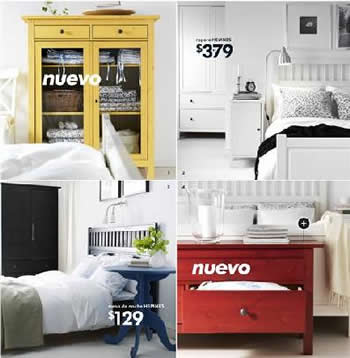Cat logo ikea 2009 novedades en la serie de dormitorio hemnes - Catalogo ikea habitaciones ...