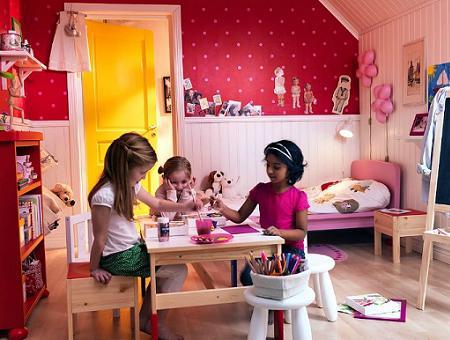 Habitación de niña Ikea