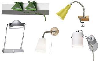 lamparas de pinza Ikea