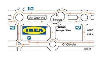 mapa hospitalet