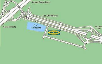 mapa Ikea Tenerife