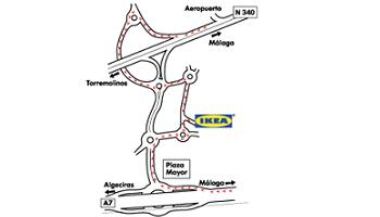 Ikea m laga localizaci n for Ikea malaga telefono