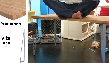 Cómo montar una mesa escritorio para la oficina de Ikea en 3 ...