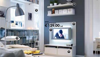 Un sal n ikea por menos de 600 euros la tienda sueca for Muebles de salon ikea 2017