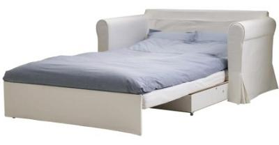 6 sof s cama de ikea por menos de 300 euros la tienda sueca. Black Bedroom Furniture Sets. Home Design Ideas