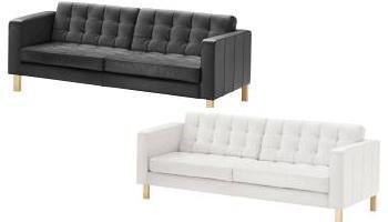 Sofa Cuero Ikea.Novedades Ikea Sofa Karlstad En Piel