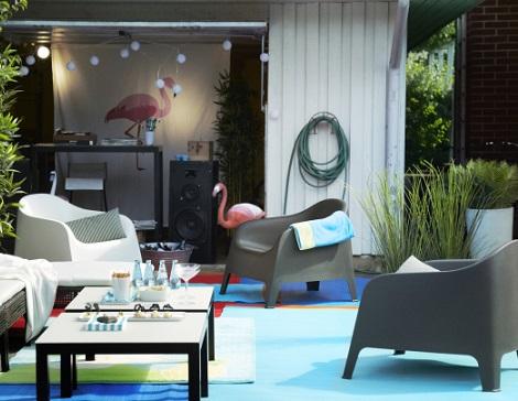 La colecci n de sillas y sillones de ikea para el jard n for Sillones de jardin baratos