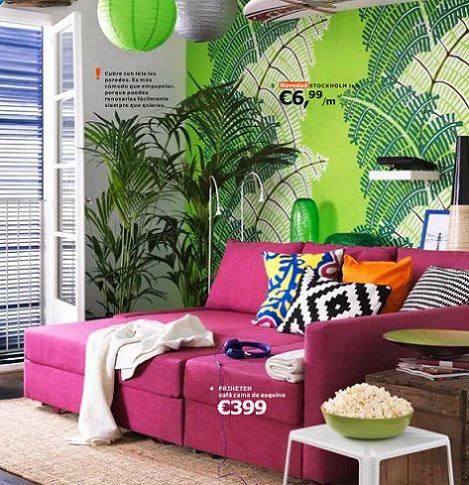 los nuevos sof s del cat logo de ikea 2014. Black Bedroom Furniture Sets. Home Design Ideas