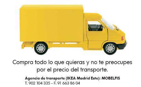 Ikea madrid este baja sus tarifas de transporte hasta for Ikea gran via telefono