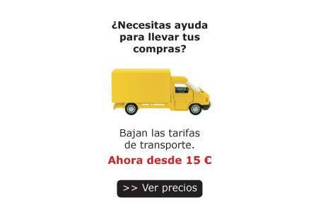 Bajan las tarifas de transporte Ikea transporte a casa
