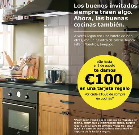 Ikea te regala 100 euros por comprar muebles de cocina - Cocinas por 2000 euros ...