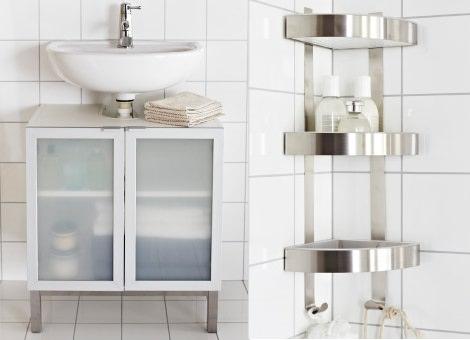 Muebles y accesorios pr cticos de ikea para aprovechar el - Ikea muebles auxiliares de bano ...
