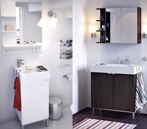 Ikea banos lillangen