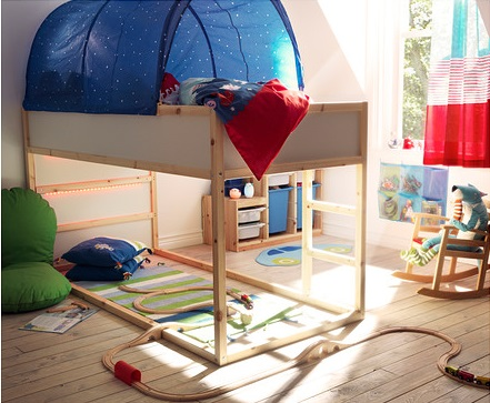 Los modelos de camas altas de ikea - Camas con dosel baratas ...
