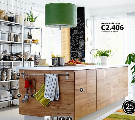 Cocina isla de Ikea, de diseño por 2.406 euros