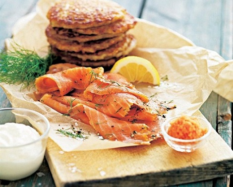 recetas de salmón con sabor a suecia