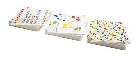 Servilletas de papel Ikea