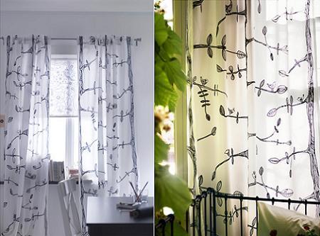 Las cortinas m s baratas de ikea la tienda sueca - Cortinas baratas para salon ...