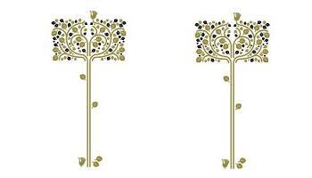 Vinilos adhesivos para decorar la pared en ikea for Vinilos ikea catalogo