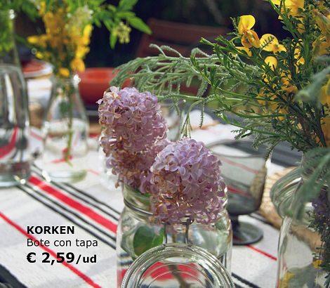 bodas de ikea low cost centros de mesa