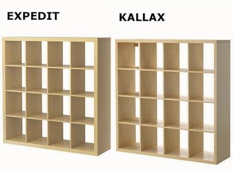 Ikea dice adi s a su estanter a expedit para reemplazarla - Estanterias diseno para libros ...