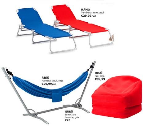 Nuevas tumbonas sillas y hamacas de ikea para el verano - Sillas de playa plegables en ikea ...