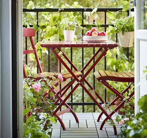 Muebles de ikea para terraza y jard n 2014 - Mesas de exterior ikea ...
