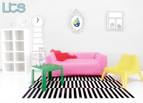 Juguetes de Ikea; un mini salón para tus muñecas
