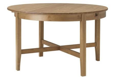 5 mesas redondas de Ikea
