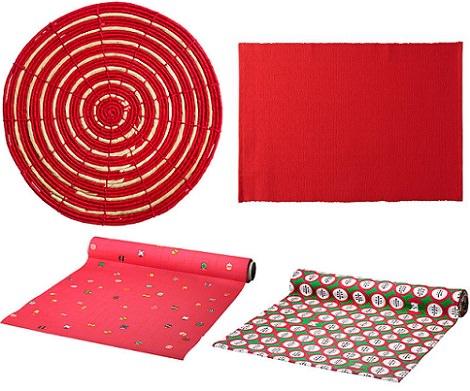 decora tu mesa de navidad con las propuestas de ikea