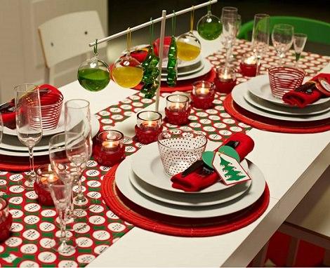 5 ideas para decorar tu mesa de navidad con estilo - Decoracion de navidad para la mesa ...