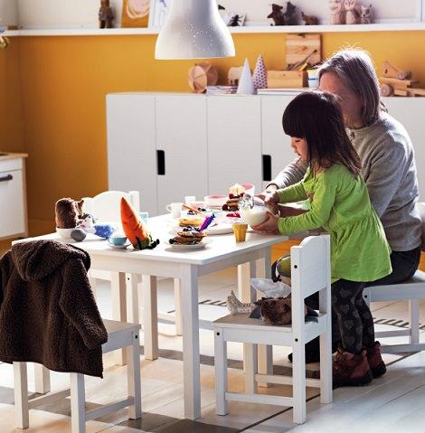 escritorio para niños de ikea
