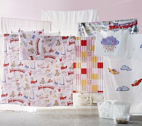 textiles para niños ikea 2014