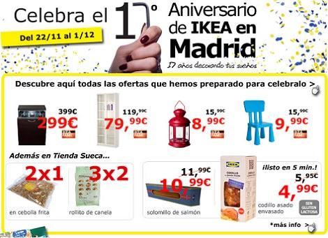 Ikea Celebra Tu 17 Cumpleaños En Madrid Con Estas Ofertas