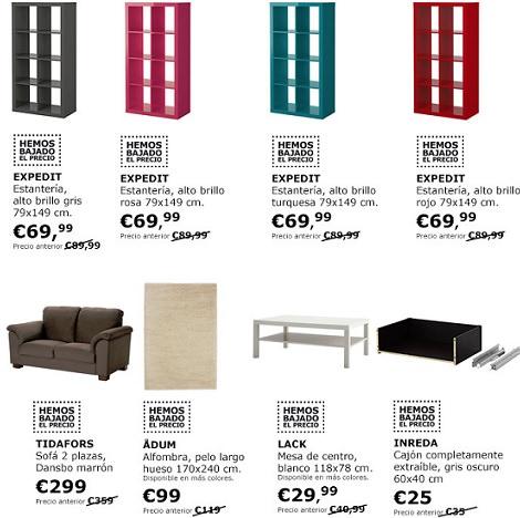 Ikea baja el precio en muchos de sus productos en febrero for Mesillas ikea precios
