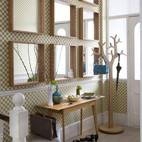 Ideas para decorar un recibidor con Ikea