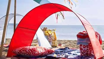 Todo lo necesario para ir a la playa en Ikea